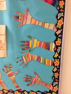Bishops Blackboard: A First Grade Blog - Art to go along with A Bad Case of Stripes by David Shannon