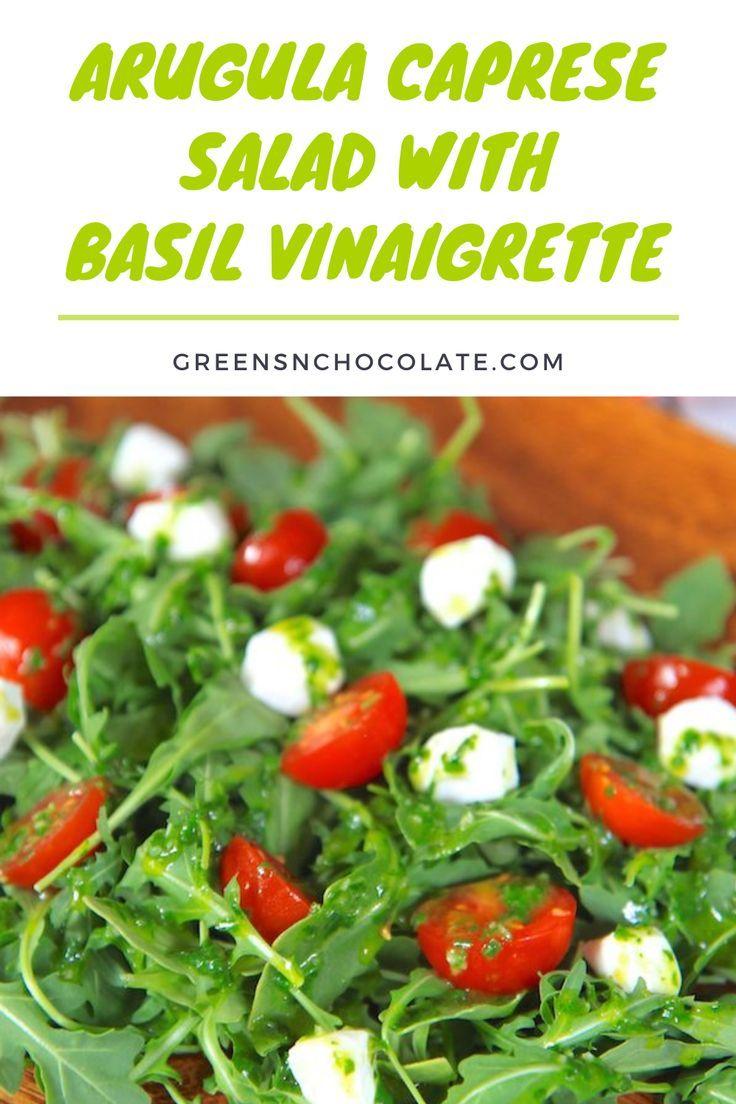 Caprese Salad Recipe Arugula
