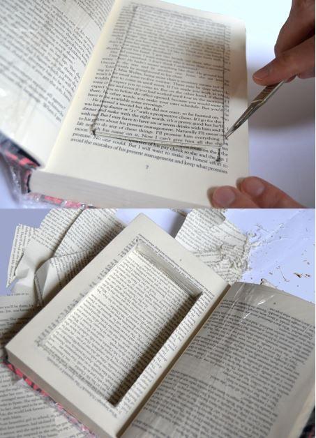 DIY Hollow Book