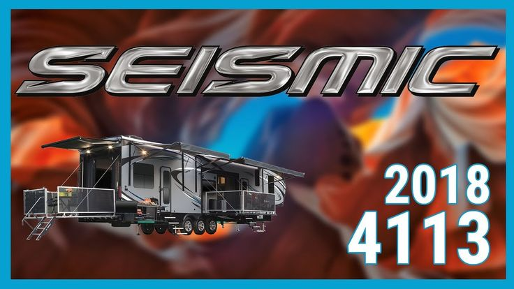 2018 Jayco Seismic 4113 Toy Hauler RV For Sale TerryTown RV Superstore Check out 2018 Seismic 4113 now at http://ift.tt/2xwoxWi or call TerryTown RV today at 616-426-6407!  Bring the comforts of home and all your gear with you! With the 2018 Jayco Seismic 4113 from TerryTown RV Superstore next-level adventures await.  This 4113 is a triple-axle 45 foot 10-inch long toy hauler that features Jayco's proprietary Magnum Truss Roof System. This unit also includes Jaycos Climate Shield weather…