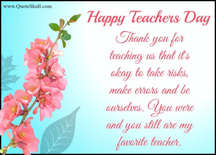 Teachers Day Greetings Messages