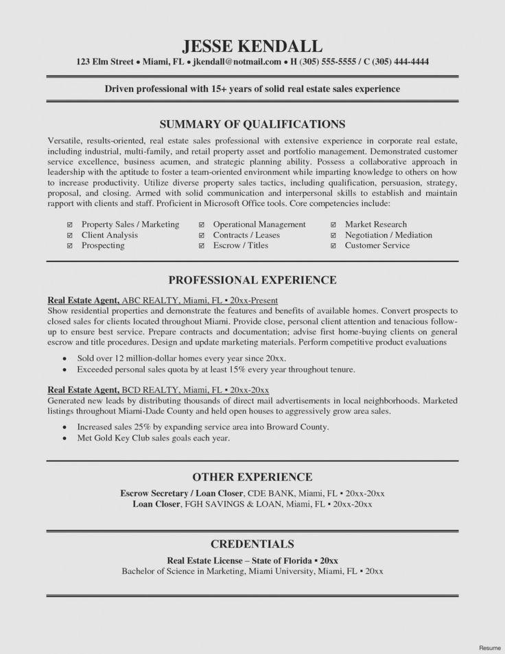 36+ Real estate resume sample pdf ideas