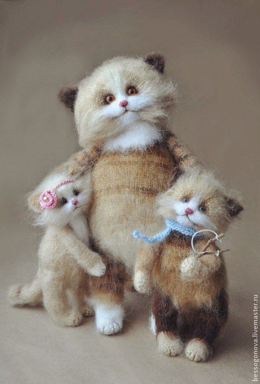 вязаные коты - Поиск в Google