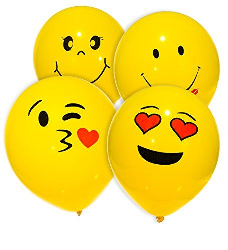MESHA® Emoji Smiley Face Party Balloons MESHA is a large manufacturer for toys,party decoration and fitness supplies. All of our product have the warranty with the professional customer service team. Balloons–what for? Add bold color to a bachelorette party, Valentine's Day party, or girls birthday party. Coordinate with other hot party supplies and party decorations …