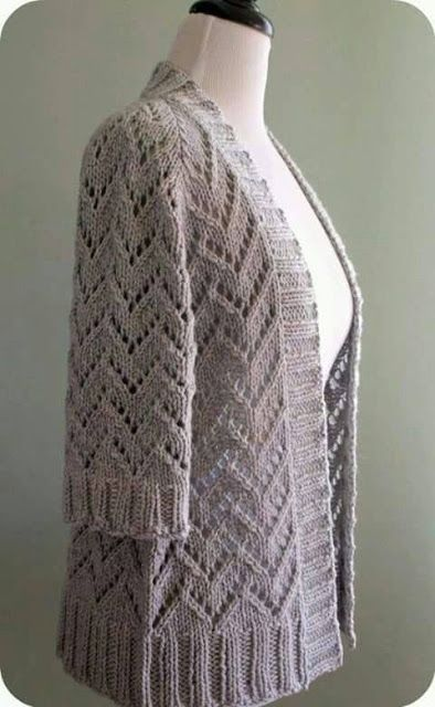 Galería: Modelos de Blusas y Chaquetas Tejidas | CTejidas [Crochet y Dos Agujas]