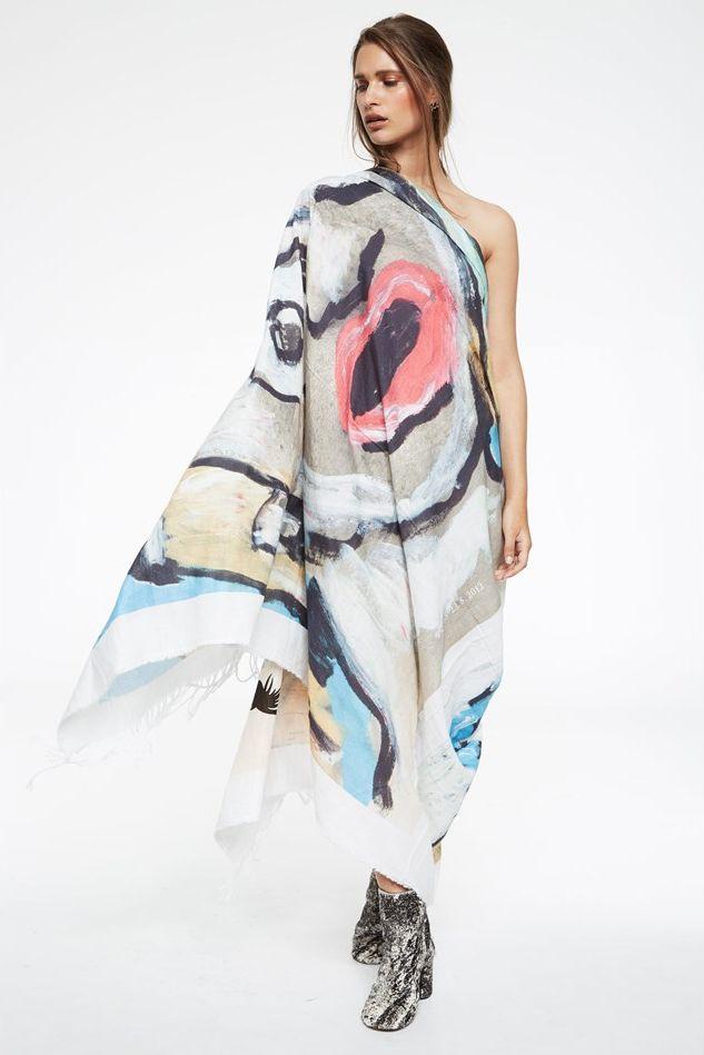 bernhard willhelm scarf photographed by marissa findlay for blkonblk #5