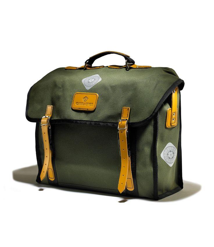 Carradice Originals City Folder Bag - an ideal bag for the Brompton rider.