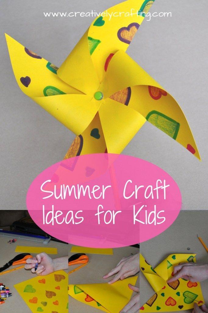 Summer Craft Ideas For Kids Kbn Crafts For Kids Summer Crafts