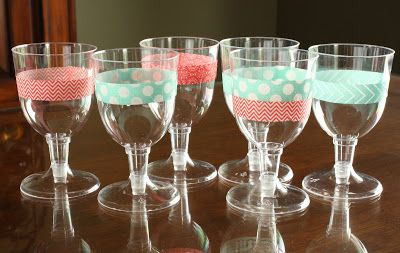 Création Stacy                                              Personnalisez vos drinks avec du washi tape