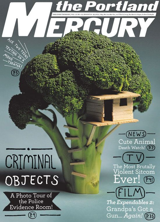 The Portland Mercury Editorial Design Inspiration