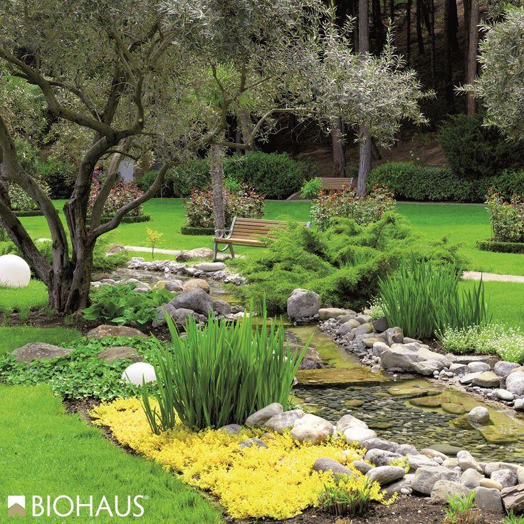 I giardini #Biohaus sono progettati da professionisti del verde e del comfort outdoor.
