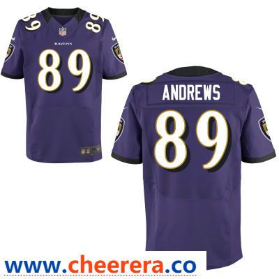 2f8611b2 ... new zealand mens baltimore ravens 89 mark andrews purple team color  stitched nfl nike game jersey norway nike 40 kenny young ash backer ...