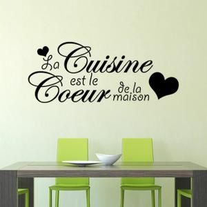 1000 ideas about armoire murale cuisine on pinterest - Stickers pour cuisine rouge ...