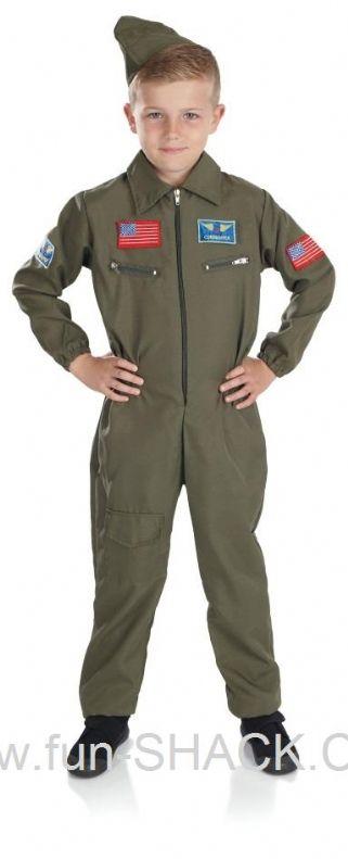 Air Cadet Boy Fancy Dress Fun Shack