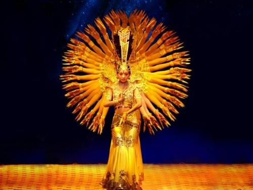 Buddhist: Hands Dance, Buddhists, Performing Art, Goddesses, Guan Yin, Win, Memorizing Journey, China, Spring Festivals