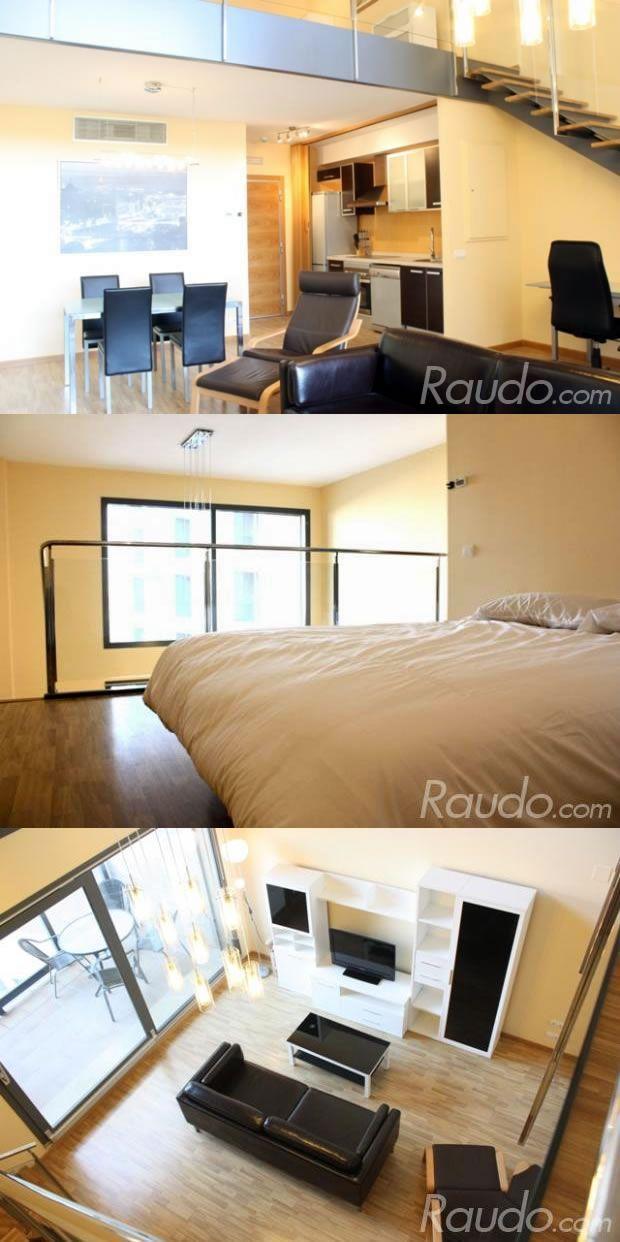 Bonito Loft en Burjassot - Valencia. Cuenta con  gimnasio, pista de pádel, piscina, jacuzzi y sauna. http://www.raudo.com/f/ohmyloft-valencia-wifieverywhere-pool-gym/3475