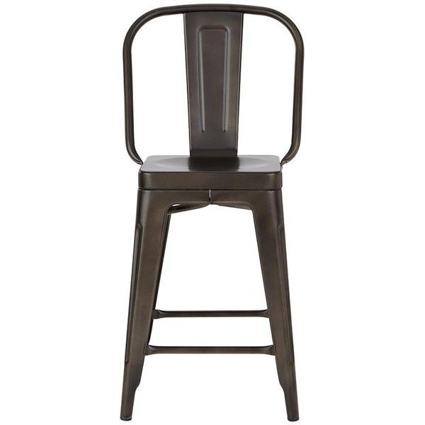 Garden Counter Stool ($143) ? liked on Polyvore featuring home outdoors patio  sc 1 st  Pinterest & Best 25+ Outside bar stools ideas on Pinterest | Outdoor garden ... islam-shia.org