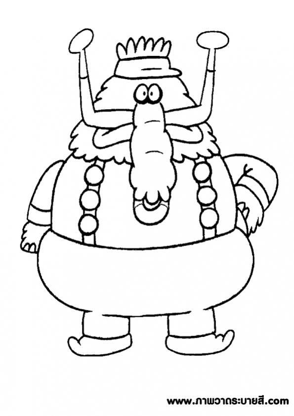 ภาพวาดระบายส Chowder 10 งานฝ ม อจากกระดาษ การพ มพ