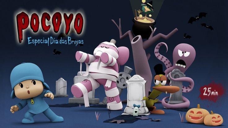 Pocoyo - Dia das Bruxas: 25 minutos de diversão!   HALLOWEEN