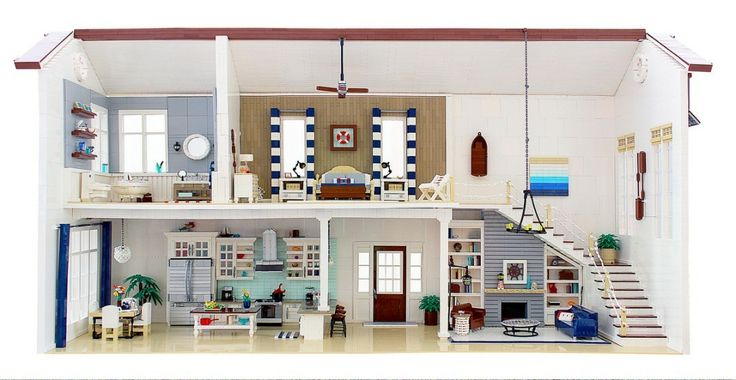 Lego living area