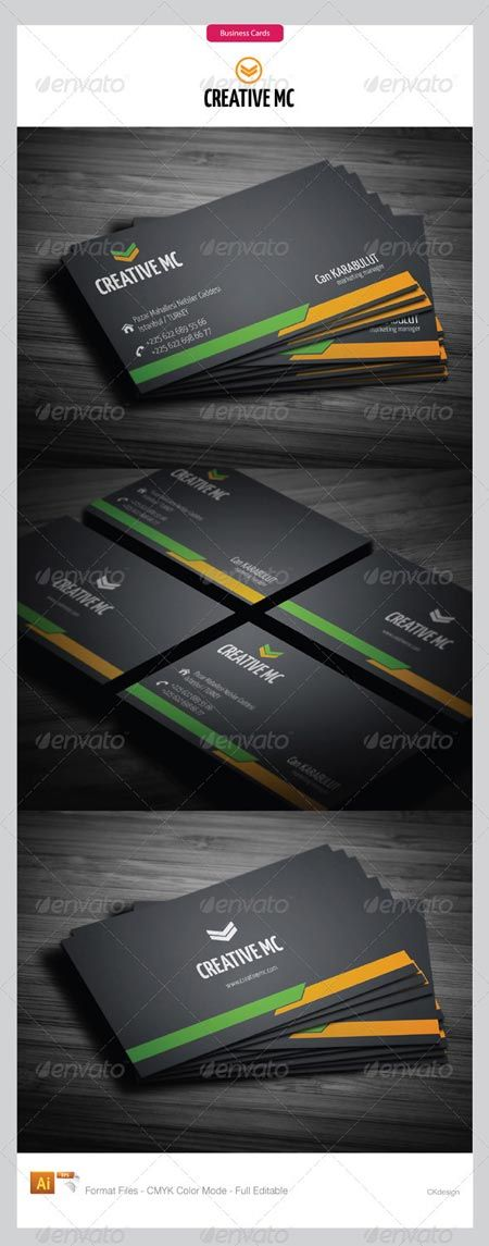 GraphicRiver corporate business cards 147 3267692