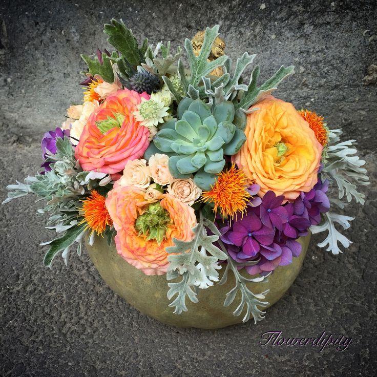 Flowerdipity Pumpkin.