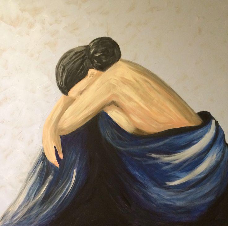 Acrylic woman