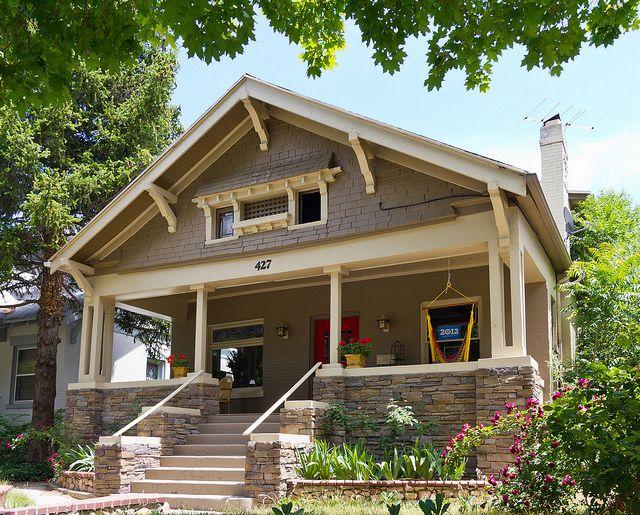 72 best craftsman bungalow exterior paint schemes images for Bungalow paint schemes