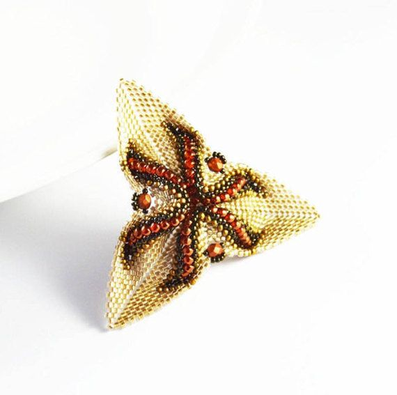 Triangle flower 3D brooch Clasp Decoration blouse Brooch with