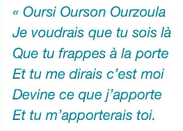Boris Vian ,Berceuse pour les Ours qui ne sont pas là ...