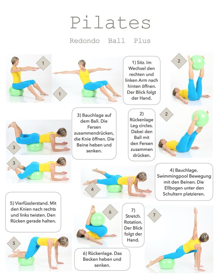 Pilates für einen flachen Bauch! http://www.brasil-workout.de/Website/Redondo_Ball_Plus.html