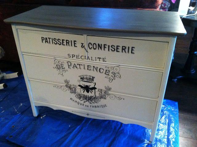 100 year old farm dresser, annie sloan chalk paint, diy, fleur4her, palace in wonderland