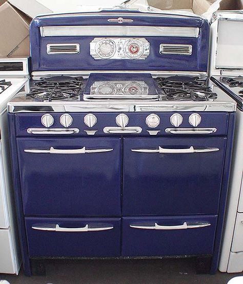 OOOHHHH :)    General Appliance Refinishing, Inc. - Stoves For Sale: 39inch Early 1950's O'Keefe & Merritt