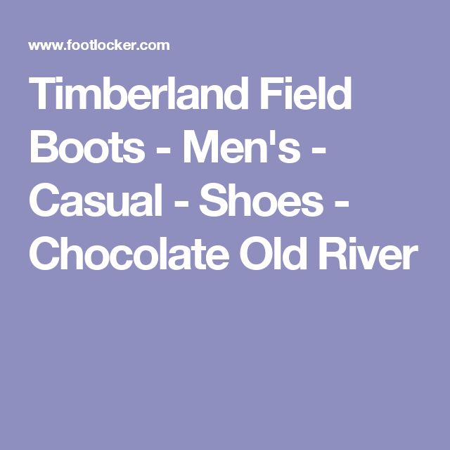 Timberland Field Boots - Men's - Casual - Shoes - Chocolate Old River