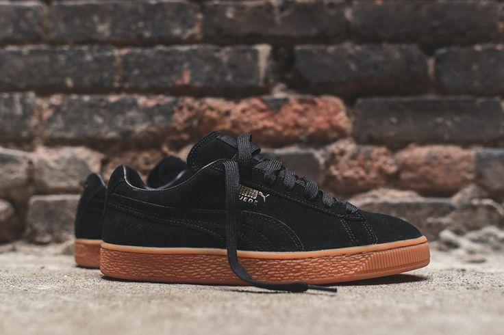"""Puma Suede Winter """"Black/Gum"""" - EU Kicks: Sneaker Magazine"""