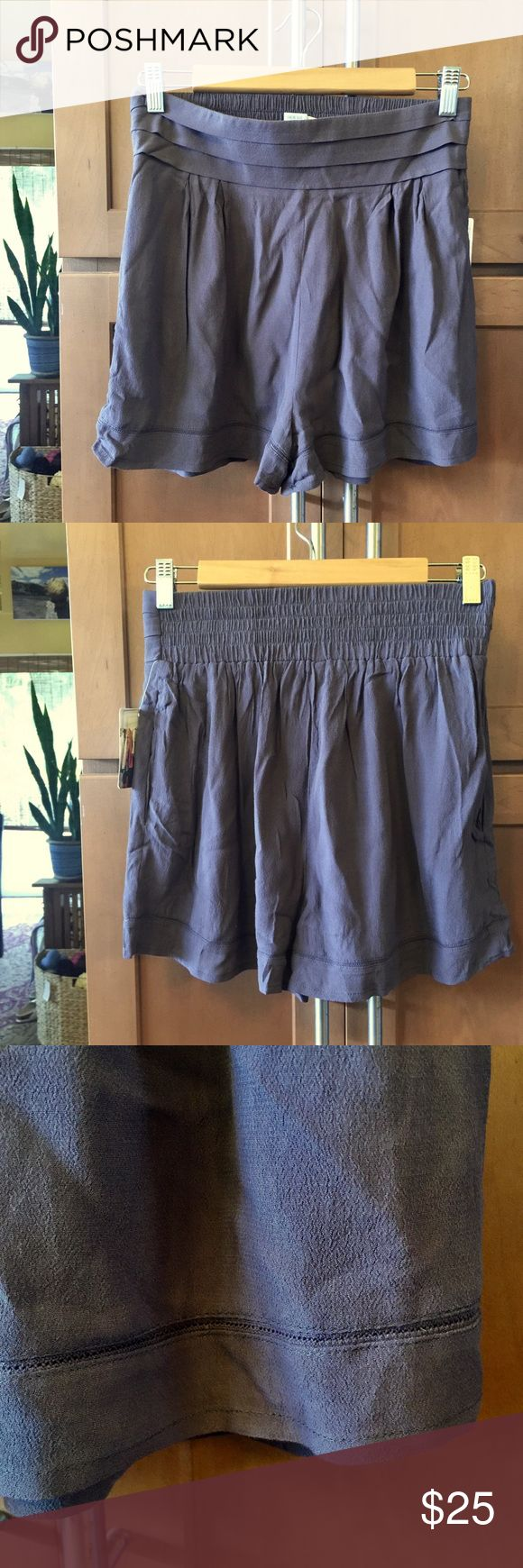 Anthropologie gray shorts Anthropologie gray loose shorts Anthropologie Shorts