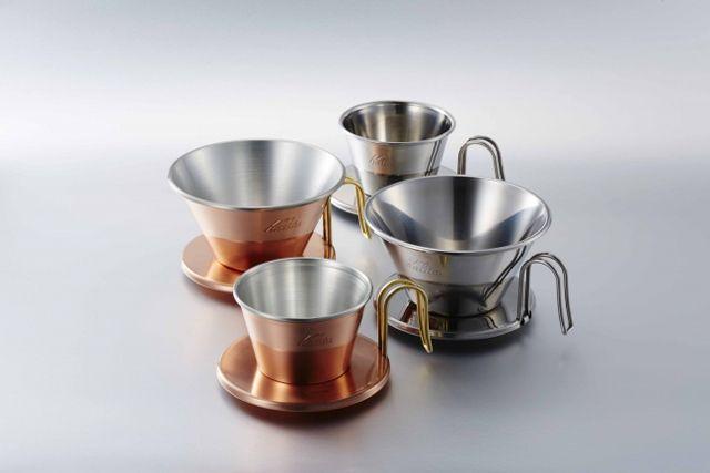 『Kalita(カリタ)』が洋食器の産地として名高い新潟県燕市の企業とコラボレーション。 燕市が誇る金属加工技術の結晶とも言える新作ウェーブドリッパーを中心とした新製品を発売します。