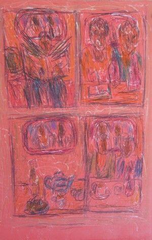 Aftermath I by David Koloane   DAVID KRUT PROJECTS