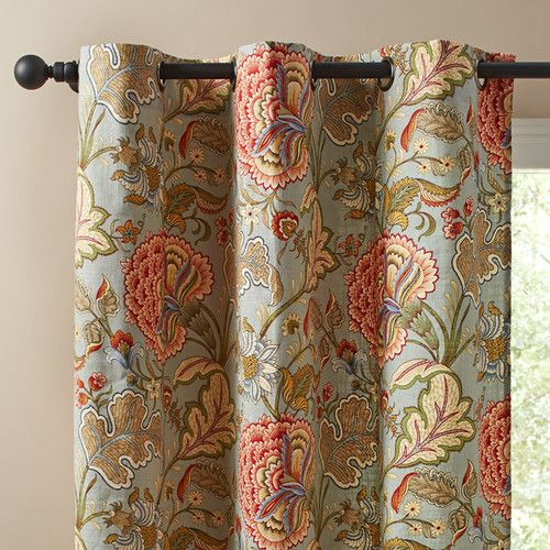 Birch Lane Maddy Single Curtain Panel & Reviews | Wayfair