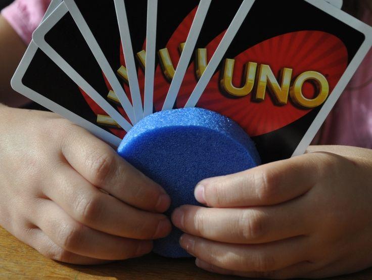 m hoch drei: Kartenhalter