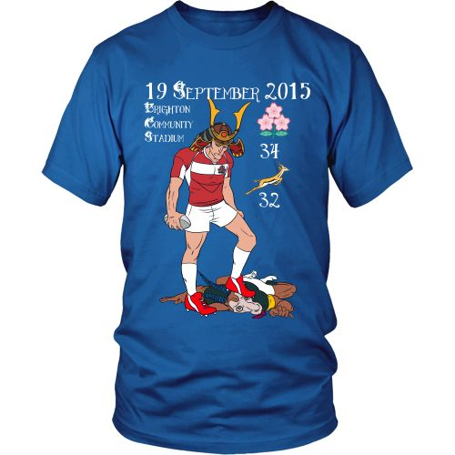 Rugby World Cup 2015 - Japan's Triumph - Unisex – Designer Tees
