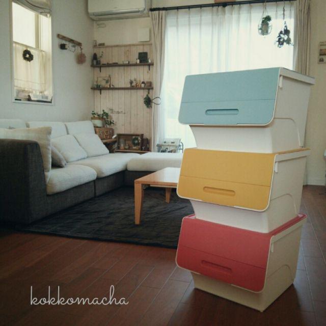 kokkomachaさんの、froq,squ ,収納,ブログやってます(*Ü*),My Desk,のお部屋写真