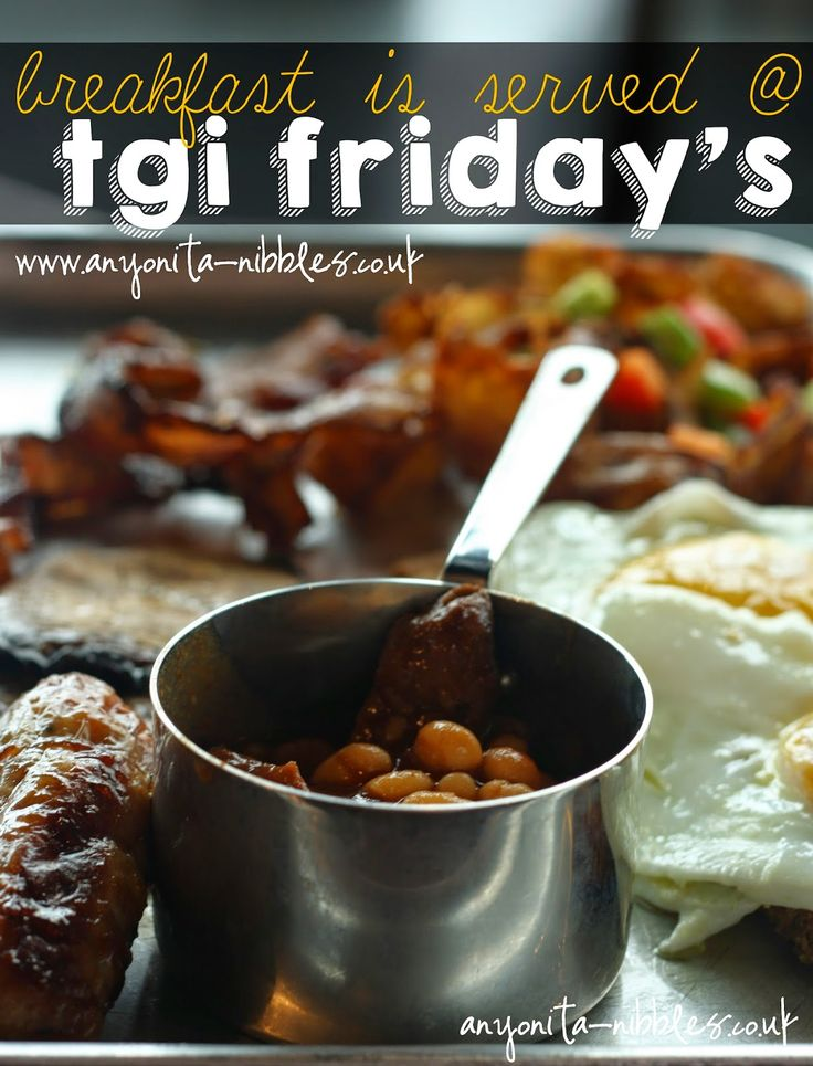 A review of the new breakfast menu at TGI Friday's at Manchester's new Fast Track train station restaurant   Anyonita-nibbles.co.uk
