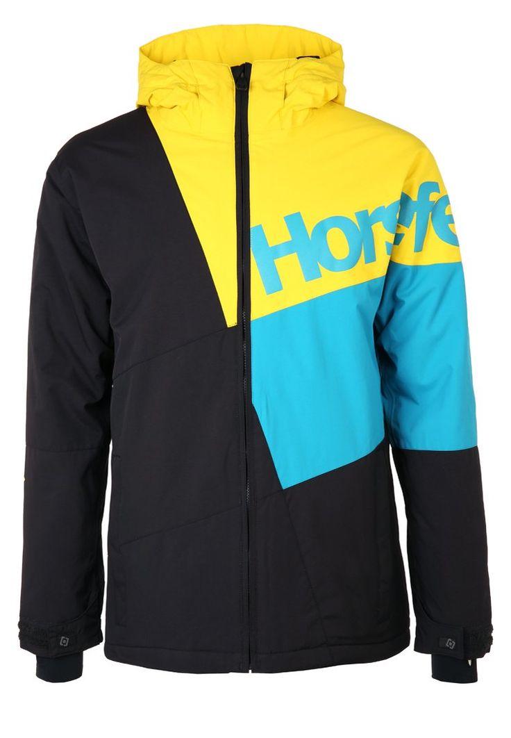 Horsefeathers PURSUIT Kurtka snowboardowa yellow 739.00zł #moda #fashion #men #mężczyzna #horsefeathers #pursuit #kurtka #snowboardowa #sportowa #męska #yellow #żółty #black #czarny #blue #niebieski