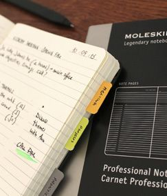 free moleskine templates to customize your notebook?! yes please