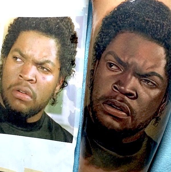 Hyperrealistic Portrait Tattoos by Nikko Hurtado , http://itcolossal.com/tattoos-nikko-hurtado/