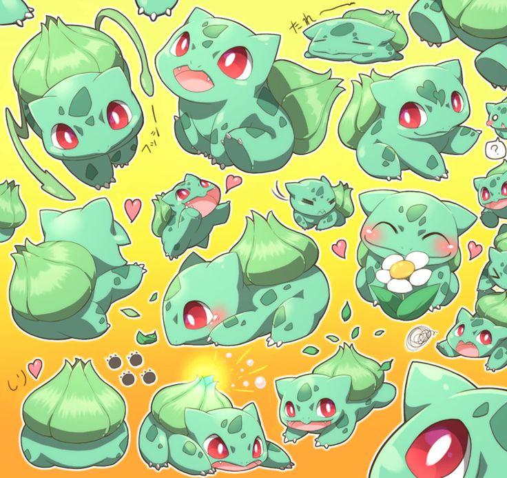 Pokemon: bulbasaur love