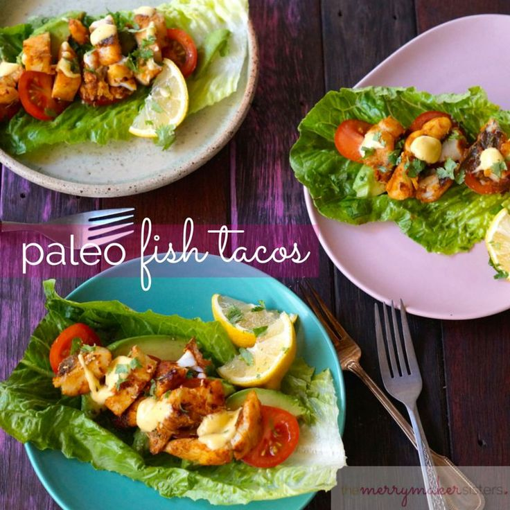 Seriously yummy paleo fish tacos. Super quick, easy and delicious paleo recipe. The perfect recipe to support your healthy journey!