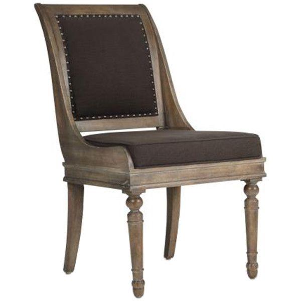 Bernhardt Belgian Oak French Truffle Dining Chair Set of 2