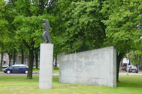 De Baanbreker - Kunst in Noordoostpolder, ontworpen door Steef Roothaan